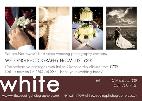 White Wedding Photography Flyers now out in Liverpool!