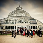 Liverpool palm house white wedding photography