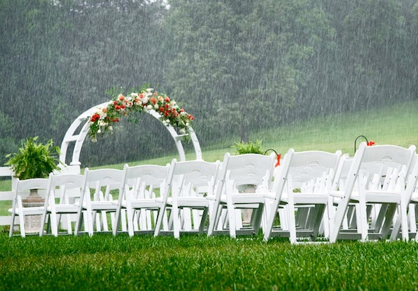 White weddings tips for what happens if it rains on your wedding white weddings tips for what happens if it rains on your wedding day junglespirit Image collections