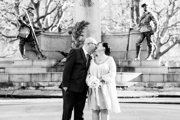 White Wedding Photography Rob and Diane St. George's Hall